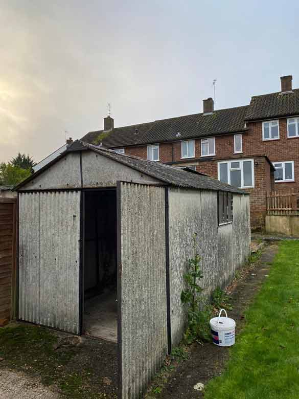 Asbestos Corrugated Shed Removal St Albans