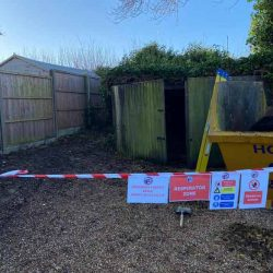 Asbestos Corrugated Shed Roof Removal Luton