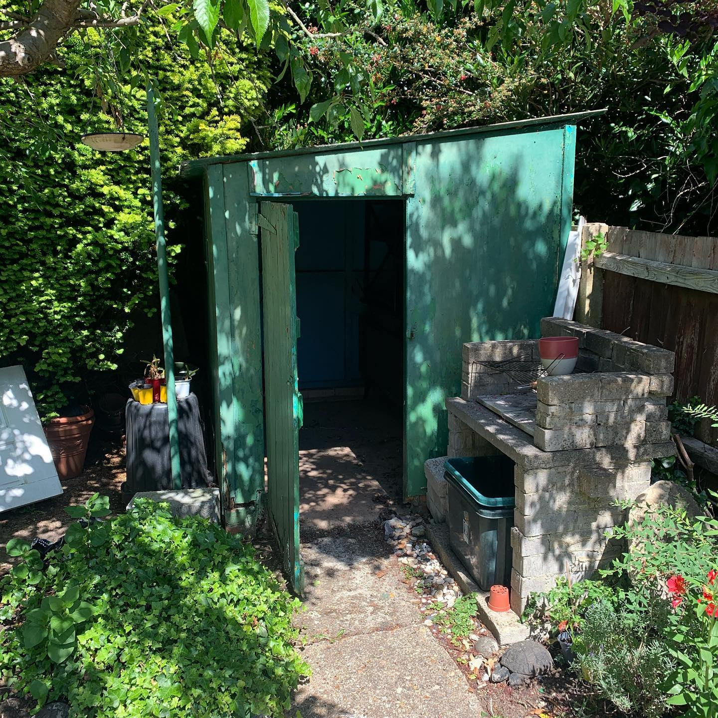 asbestos cement shed removal watford hertfordshire